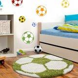 Voetbal vloerkleed Funny 6001 kleur Groen_