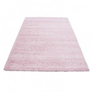 Hoogpolig vloerkleed Prime Shaggy 9000 Pink