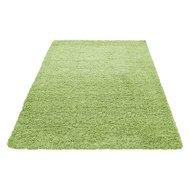 hoogpolig groen tapijt, vloerkleed, karpet