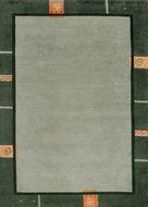 Handgeknoopt-wollen-vloerkleed-Nepal-Plus-9286-Groen