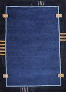 Wol-tapijt-Nepal-Plus-92624-Blauw