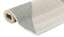 Geruit modern vloerkleed of karpet