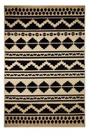 Katoen-vloerkleed-Sandos-300-kleur-Zwart-Naturel