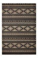 Katoen-vloerkleed-Sandos-100-kleur-Zwart-Naturel