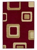 Vloerkleed-Praxim-kleur-rood-2751