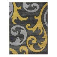 Modern-vloerkleed-Coridon-Elude-kleur-oker
