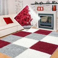Modern-rood-vloerkleed-Adriana-Shaggy--1501-AY-Rood