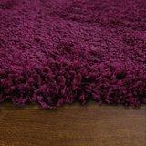 Hoogpolig vloerkleed Dorin 957 kleur Purple_