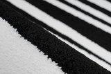 Vloerkleed Wales Zwart Wit 200_