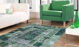 160x230cm vloerkleed Patch Plus groen_