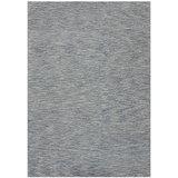 Wollen vloerkleed Wales blauw grijs_