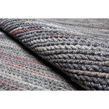 Vloerkleed gemaakt van 100% wol Cortina bruin-roest_