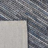 Vloerkleed gemaakt van 100% wol Cartier blauw_