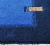 Nepal karpetten Plus 9285 Blauw_