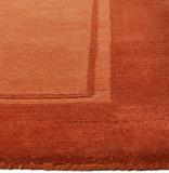 Wollen vloerkleed Nepal Plus 92600 Caramel_