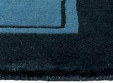 Wol tapijt Nepal Plus 92603 Blauw_
