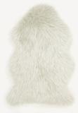 Vacht vloerkleed Vallis kleur creme_