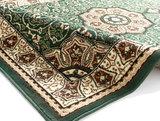 groen klassiek tapijt