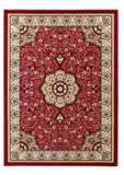 rood klassiek karpet