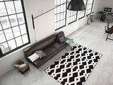 Designer vloerkleed Stellos Zwart Wit_