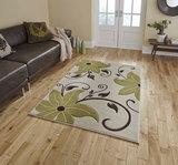 Vloerkleden Victoria kleur beige groen OC15_