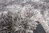 Hoogpolig vloerkleed grijs Diadeem _