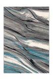 200x290cm vloerkleed Morres Blauw_