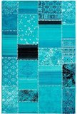 120x170cm vloerkleed Madrid Blauw_