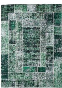 160x230cm vloerkleed Patch Plus groen
