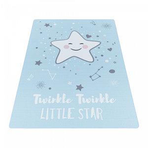 Kinderkamer vloerkleed Kiddy blauw 2901