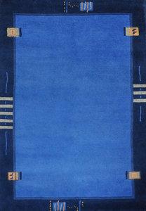 Nepal karpetten Plus 9285 Blauw