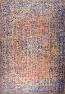 Vloerkleden novum 97465 Roest - Blauw
