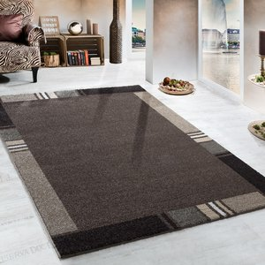Modern vloerkleed Merli 852 kleur Grijs 95
