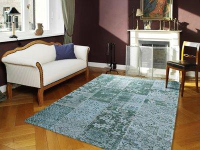Roobol Tapijt Vloerkleden : Vintage turquoise vloerkleden karpetten en tapijten
