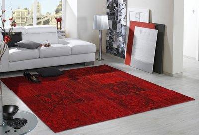 Rood Tapijt Aanbiedingen : Vloerkleed patchwork rood vloerkleed nu in de aanbieding