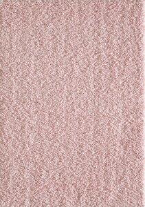 Roze hoogpolig vloerkleed of karpet
