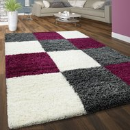 Hoogpolig-vloerkleed-Dorin-910-kleur-Purple