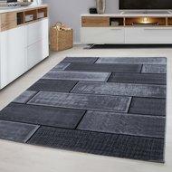 Modern-vloerkleed-Galant-8007-kleur-Zwart