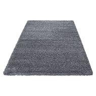 grijze hoogpolige vloerkleden, karpetten en tapijten