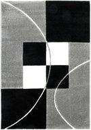 Zwart-wit-geruit-vloerkleed-Fleur-8001