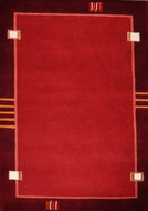 Nepal-karpet-Plus-9284-Rood