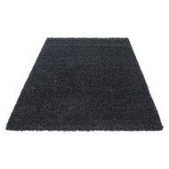 antraciet hoogpolige vloerkleden, karpetten en taoijten