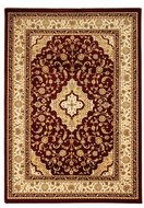 rood klassiek tapijt