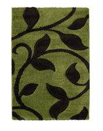 Modern-vloerkleed-Tapesa-kleur-groen-bruin-7647