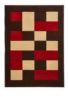 rood bruin karpet