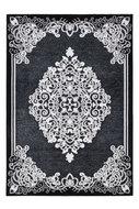 zwart vloerkleed
