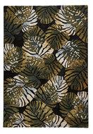 Gebloemd-vloerkleed-Tropicana-6097-kleur-zwart-groen