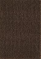 Donkerbruin hoogpolig vloerkleed of karpet