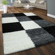Hoogpolig-vloerkleed-Dorin-910-kleur-grijs-zwart