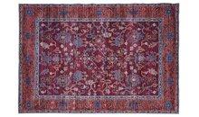 Vloerkleed-Perz-kleur-rood